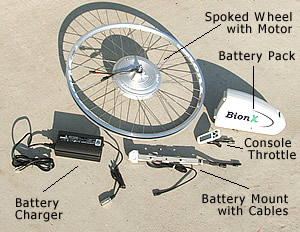 Bionx Electric Conversion Kits V Is For Voltage Electric