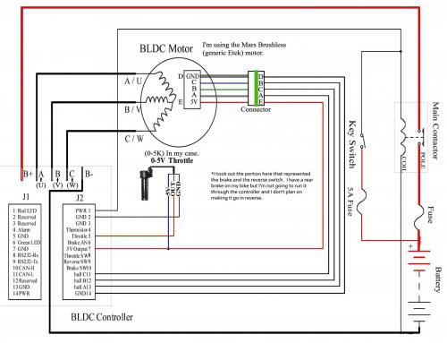 problem with brushless etek v is for voltage electric vehicle kelly controller problems at Kelly Controller Wiring Diagram