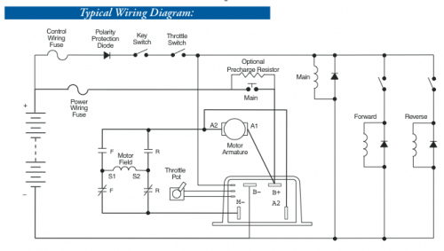 Curtis 1204 Controller Wiring Diagram - General Wiring Diagram