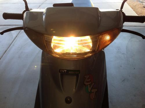 New Headlight & Testing Turn Signals