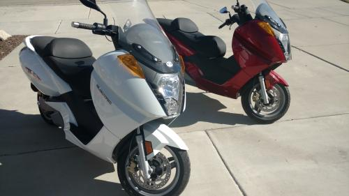 Two Vectrix VX-1 scooters for sale. | V is for Voltage electric ...