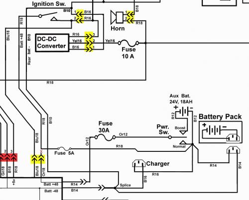 Wiring Diagram Besides 48 Volt Club Car Wiring Diagram Furthermore