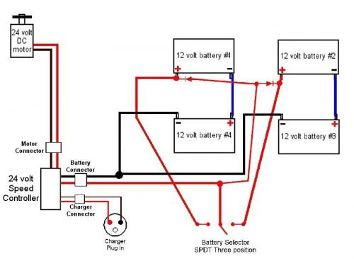 moped battery diagram