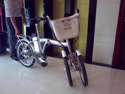 Folding Electric Tricycle V Is For Voltage Electric
