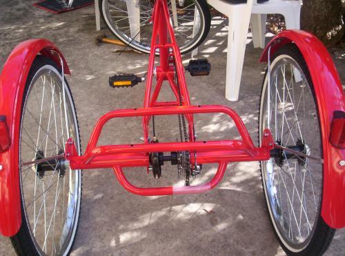 New Trike Build Gomier W Cyclone 24 V 650 Watt Almost