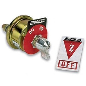 Emergency cut off switch Yes or No V is for Voltage
