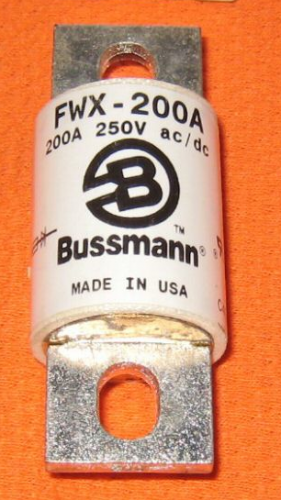 Correct looking fuse